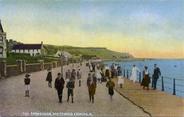 Whitehead Postcard Prom Old