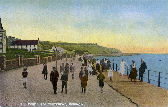 Whitehead Postcard Prom Old